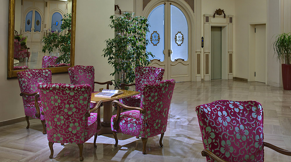 La Reception dell'Hotel Ariston Molino Buja
